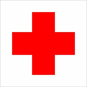 Amazon Com Emergency First Aid Kit 4 Quot X5 Quot Safety Sign