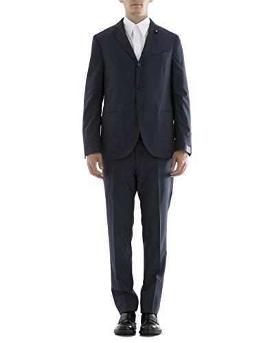 lardini-mens-ec857ae294-blue-polyester-suit