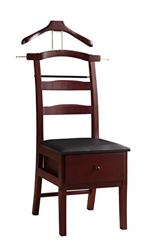 Proman Products VL16142 Chair Valet, Mahogany (Stand Valet Men)