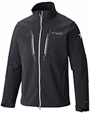 Men's Trail Warrior Softshell Black, White XL