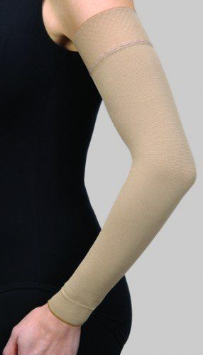 BSN Medical/Jobst 102271 Armsleeve with Silicone Band, 15-20 MMHG, Natural, Long, Size 1