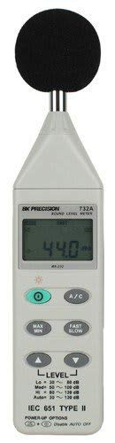 B&K Precision 732A Digital Sound Level Meter with RS-232 Capability