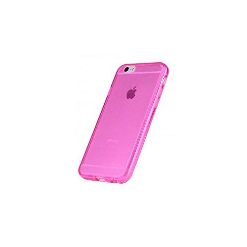Coque2mobile ® Silikon TPU Hülle Etui Tasche Gel Case Hülle Cover für Apple iPhone 5/5s, Rosa