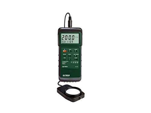 Extech 407026-NIST Heavy Duty Light Meter with PC Interface and NIST by Extech