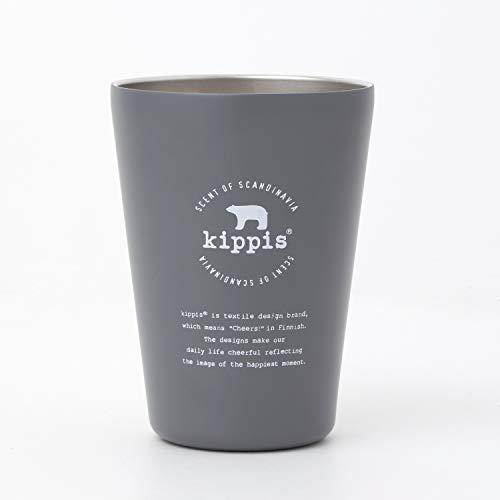 kippis cup coffee tumbler book gray 付録