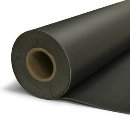 2 lb Mass Loaded Vinyl 4' X 15', 60 sq ft MLV Acoustic Barrier, Soundproofing SHIPS FREE by Burning River Buys