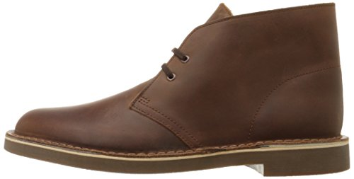 Clarks Men's Bushacre 2 Desert Boot,Dark Brown,11 M US