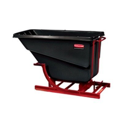 Rubbermaid Computer Carts - Self-Dumping Hopper Utility Cart
