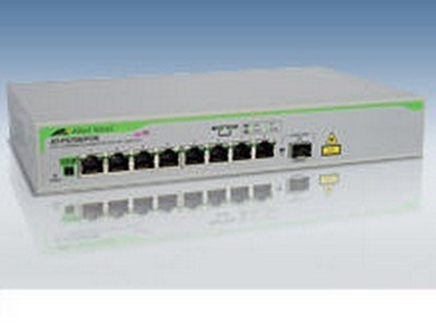 Allied Telesis AT-FS708/POE-10 SWITCH - PORTS QTY: 8 - ETHERNET; FAST ETHERNET - 100 MBPS - RACK-MOUNTABLE from Generic