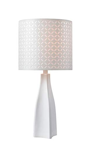 Kenroy Accent Lamp - Kenroy Home 33174WH Accent Lamp, White Finish
