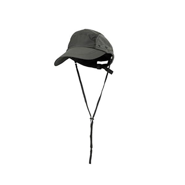YUFUMAO Cappello Alpinismo Parasole per Protezione Solare Parasole Estraibile Berretto da Pesca Traspirante UV… 2 spesavip