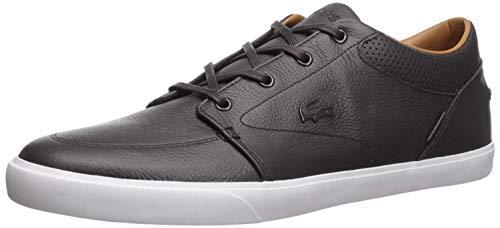 Lacoste Mens Bayliss Vulc Premium Fashion Sneaker, Black On Black, 11.5 M US