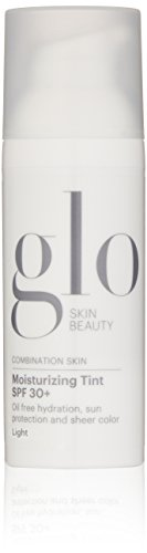 Moisturizer Paraben Tinted Free (Glo Skin Beauty Moisturizing Tint SPF 30+ - Light - Tinted Face Moisturizer with SPF 30+, 1.7 fl. oz, 4 Shades)