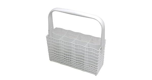 Amazon.com: Zanussi Color Blanco – Cesta de cubiertos para ...