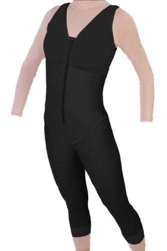 Post Liposuction - Mid Calf Body Shaper Compression Garment   ContourMD : Style 28 (XX-Large, Black) by ContourMD