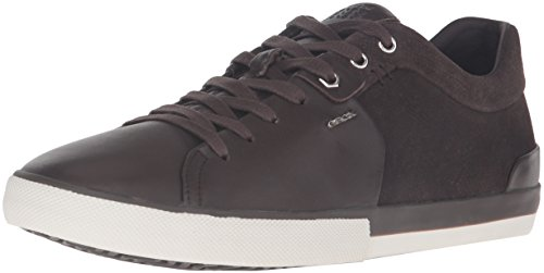 Uomo U64x2f Geox Sneakers 085bs Coffee O8kNnPwX0