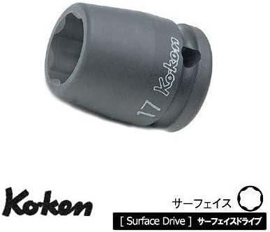 コーケン 1/2(12.7mm)SQ. インパクトサーフェイスソケット 19mm 14410M-19