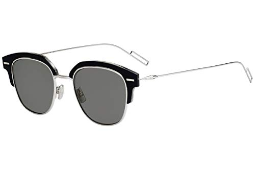 Christian Dior Homme DiorTensity Sunglasses Black Crystal w/Grey Lens 48mm 7C52K Dior Tensity Dior Tensity/S DiorTensity/S