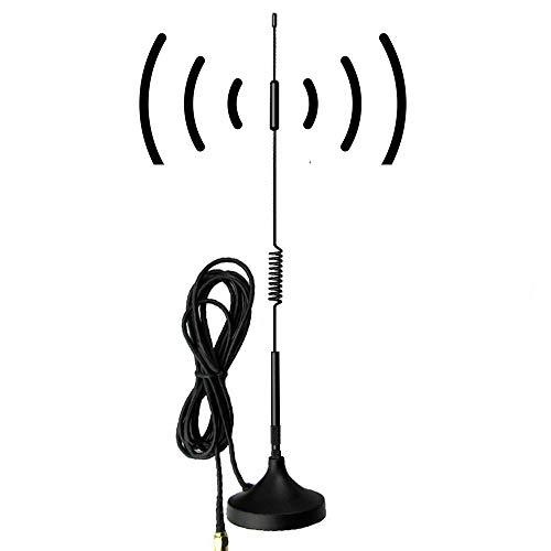 SMA Antenna 4G LTE 12Dbi 700-2700MHz Cellular Antenna Magnet Mount 4g Antenna 12Dbi 4G LTE CPRS GSM 2.4G WCDMA 3G by EJOYS