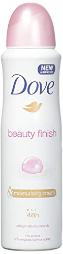 Dove Deodorant & Anti-Perspirant, 150Ml=5.07Oz / Each (Pack Of 6), 0% Alcohol, 24-48 Hr Protection (Beauty Finish)