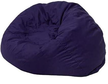 Fantastic Amazon Com Giant Bean Bag Chairs For Adults Blue Cotton Spiritservingveterans Wood Chair Design Ideas Spiritservingveteransorg