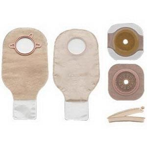 New Image Two-piece Colostomy/Ileostomy Drainable Single-use Kit 2-1/4