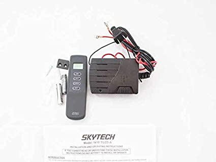 amazon com lennox oem skytech 1410t lcd on off fireplace remote rh amazon com lennox gas fireplace remote control instructions lennox gas fireplace remote control instructions