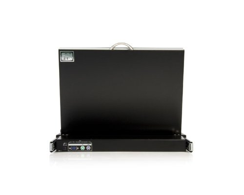StarTech.com 1U 17-Inch  Rack Mount LCD Console with Integrated 16 Port IP KVM Switch (CABCONS1716I) by StarTech (Image #5)