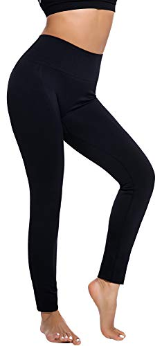 RUNNING GIRL Ombre Yoga Pants Ultrasoft Performance Active Stretch High Waisted Running Leggings (S/M, New Black) (Big Booty Black Girls In Yoga Pants)