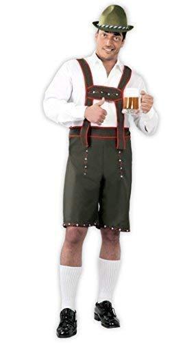 Fancy Bavarese Lederhosen Oktoberfest Tedesca Me Uomo Costume Verde rFRwr1