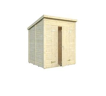 cadema Jardín Casa de madera 2,2 m x 2,2 m, (19