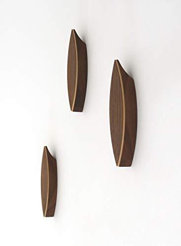 Garderobenhaken Aus Holz Einzeln Modernes Design Wandhaken