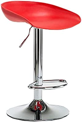 Amazon Com Homranger 360 Rotating High Stool With Adjustable Modern Kitchen And Modern Furniture Color Black Blue Gray Red White Yellow Color Red Furniture Decor