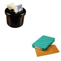 KITLEE40100QUA43767 - Value Kit - Quality Park Redi-Seal Catalog Envelope (QUA43767) and Lee Ultimate Stamp Dispenser (LEE40100)