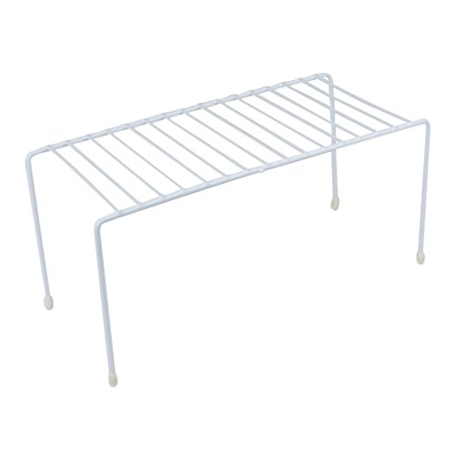Evelots Kitchen Cabinet/Counter Shelves-Organizer-Double Space-Sturdy Metal