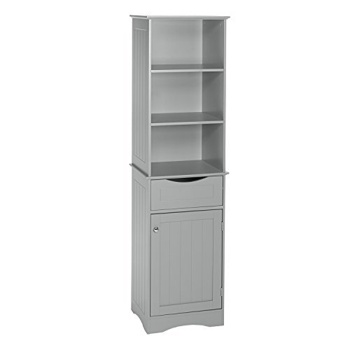 RiverRidge Ashland Collection - Tall Cabinet - (Collection Linen Cabinet)