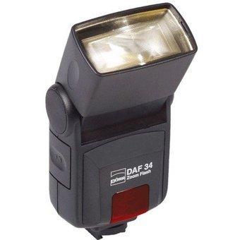 Dörr 370907 DAF-34 Zoom Systemblitzgerät für Canon Kamera