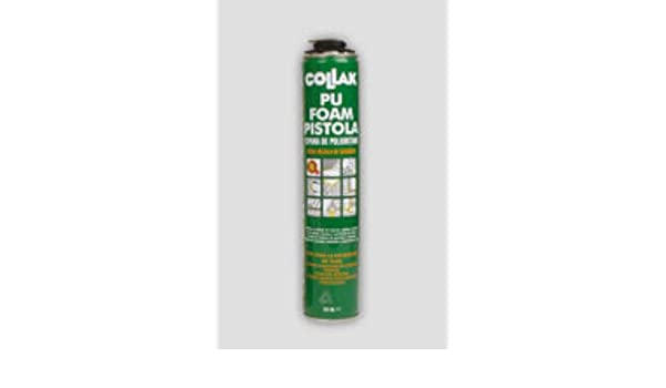 Collak foam - Espuma poliuretano foam 750ml pistola: Amazon.es: Bricolaje y herramientas