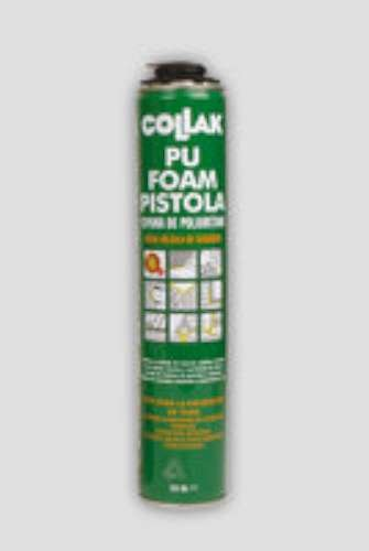 Collak foam - Espuma poliuretano foam 750ml pistola