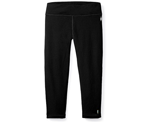 SmartWool Women's NTS Mid 250 Boot Top Bottoms Black Pants SM X 18