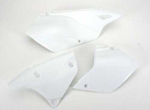 UFO SU03979041 Replacement Plastic (for Suzuki Side PNLS DRZ400 White) ()
