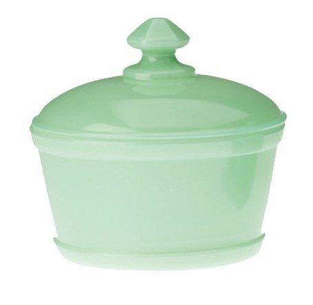 - Jadeite Round Butter Dish / Tub