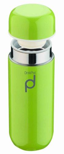 Grunwerg Drinkpod 200ml/7oz Stainless Steel Vacuum Flask Thermoses, Green HCF-200G