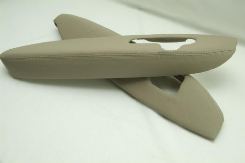 Acura Rl Synthetic Leather Armrest Door Panel Covers Tan Beige Set (Synthetic Part Only)