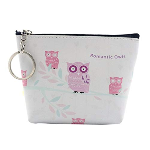 Clearance! FDelinK Women Retro Vintage Small Coin Pockets Hasp Purse Clutch Wallet Bags (Owl-27)
