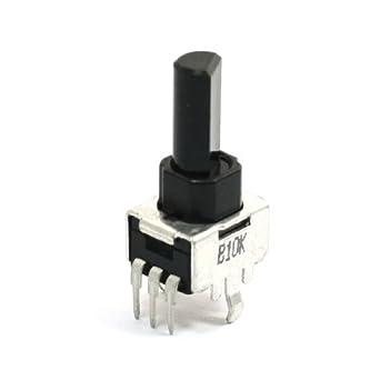Amplificador de Potencia Individual Lineal 3 terminales del potenciómetro rotatorio 10K Ohm