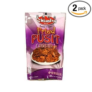 Amazon com : Chivalry Fried Pusit (Squid) : Grocery