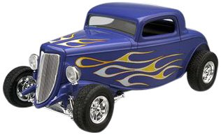 Revell 1:25 '34 Ford Street Rod (Rod Plastic Model)