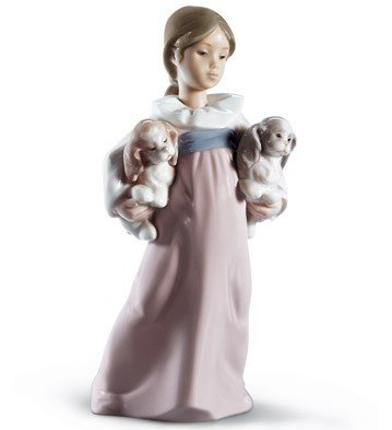 Lladro Arms Full Of