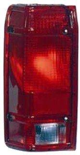 QP F1114-b Ford Ranger Driver Tail Light Lens & Housing Aftermarket